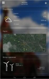 Yahoo.Погода