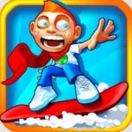 Skiing Fred Android — кровавые заезды на сноуборде!