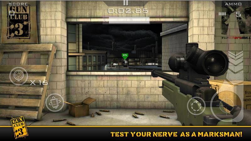 Gun Club 3 Virtual Weapon Sim Android