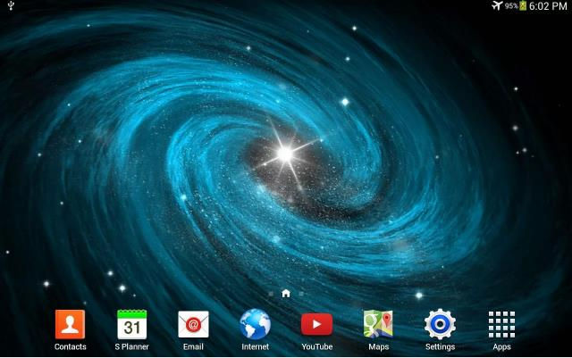 Галактика живые обои