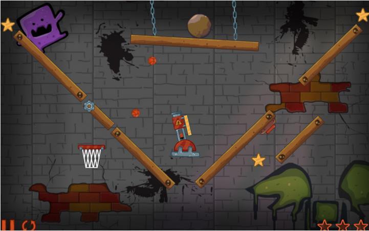 Basketball Cannon Shot