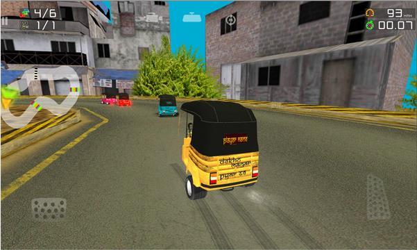 Рикша скачки Мобильный для Андроид