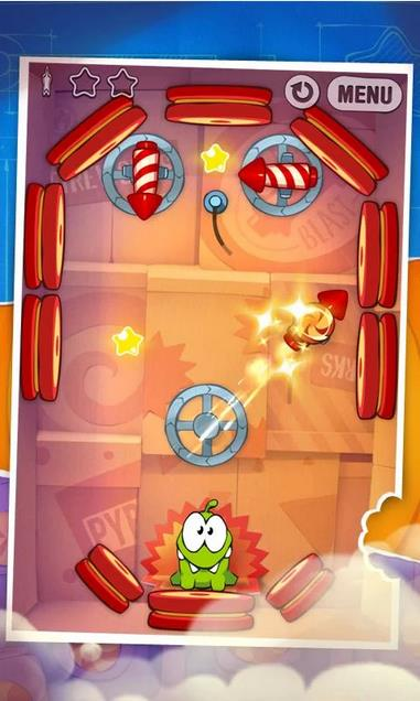 Cut the rope Experiments на Андроид