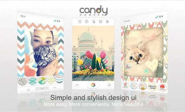 Candy Camera for PhotoShop для Андроид