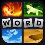 Смотрим на 4 картинки и угадываем 1 слово!