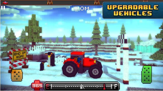 Игра Blocky Roads для Андроид