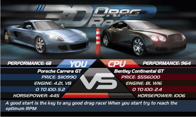 Drag Race 3D 2 Android