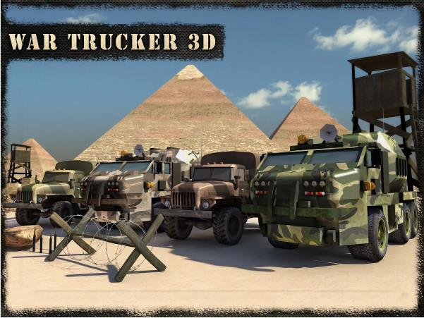 War Trucker 3D на Андроид