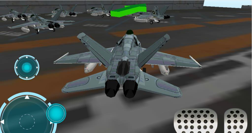Airport 3D Jet plane parking на Андроид