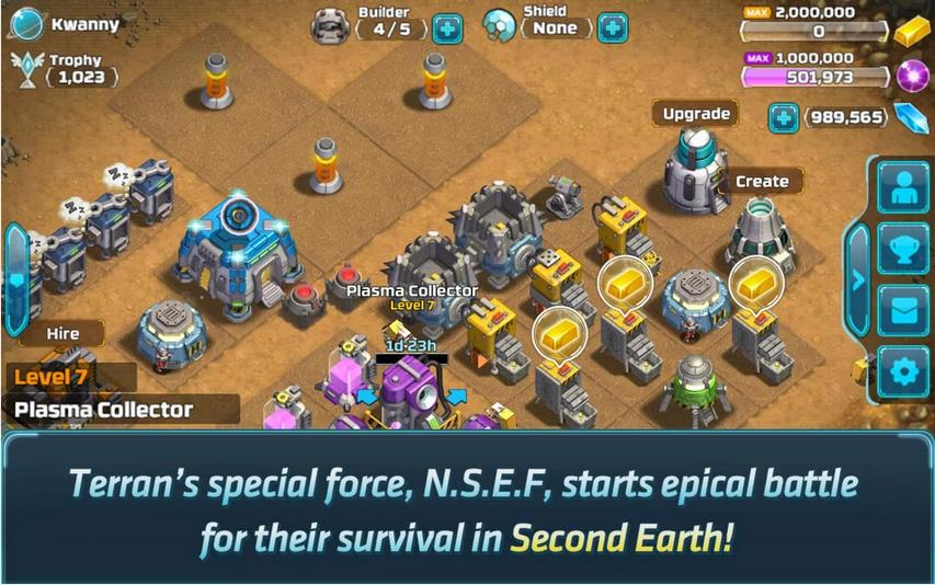 Second Earth на Андроид