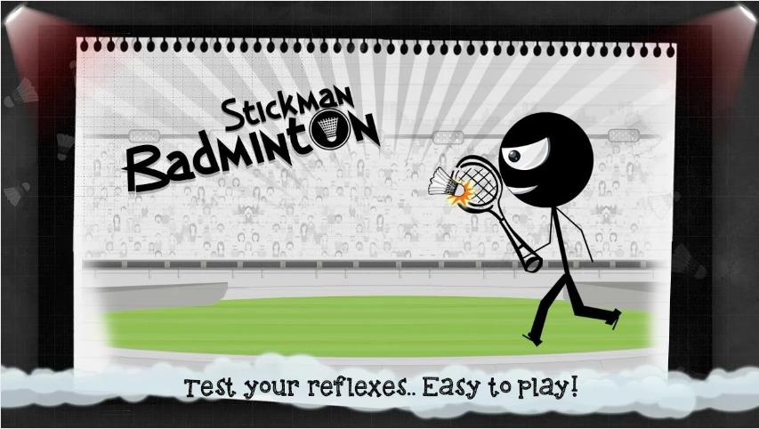 Stickman Badminton на Андроид