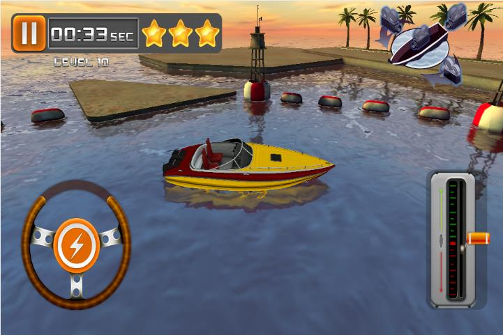 Boat Parking на Андроид