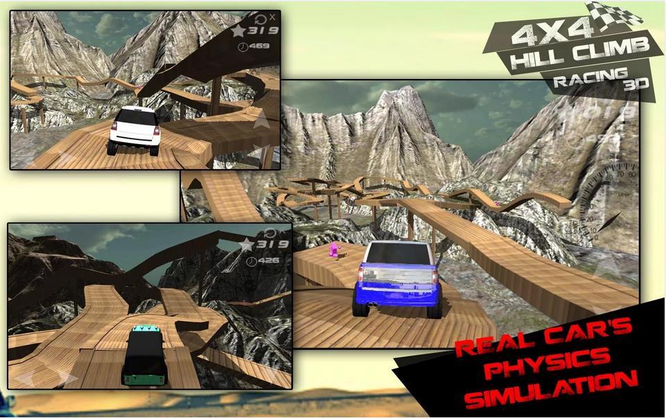 4x4 Hill Climb Racing 3d 2014