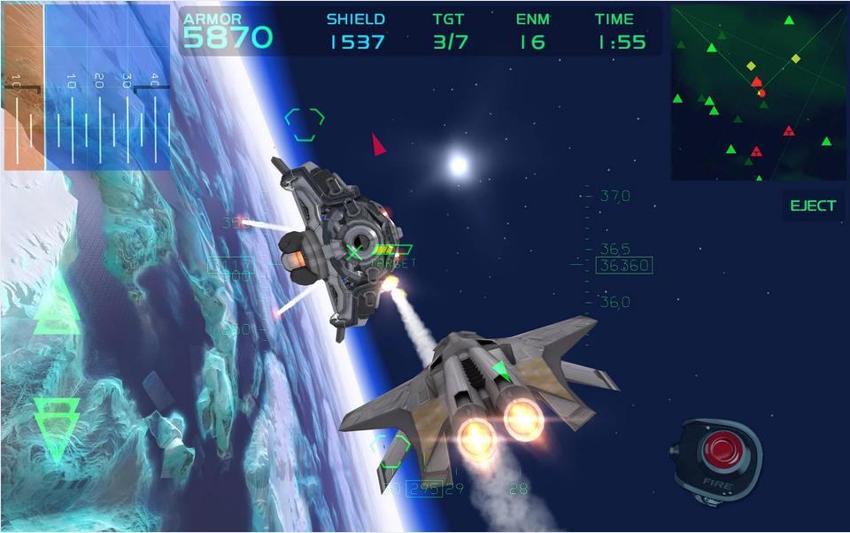 Fractal Combat X на Андроид