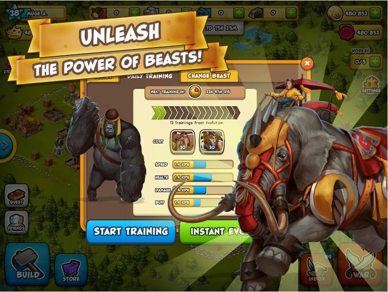 War of Mercenaries на Android