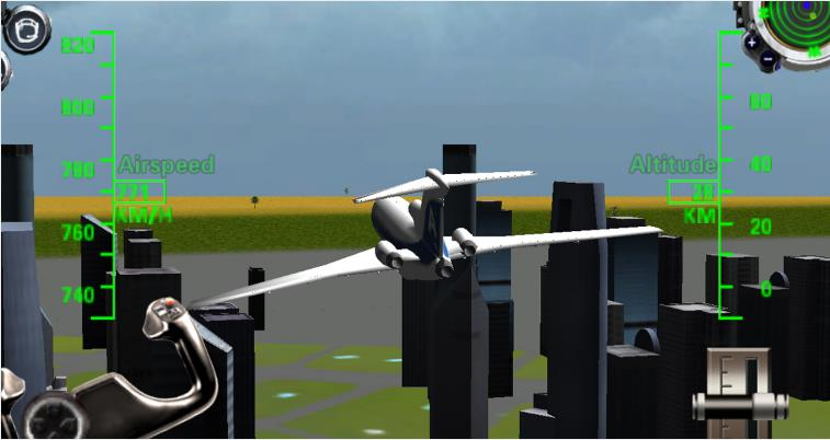 Самолет рейса Мания 3D для Android