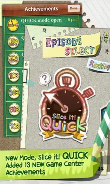 Игра Slice It! для Android скачайте бесплатно