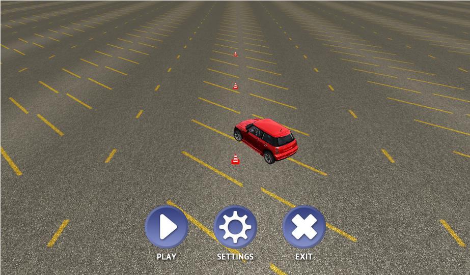 Slalom Racing Simulator на Андроид
