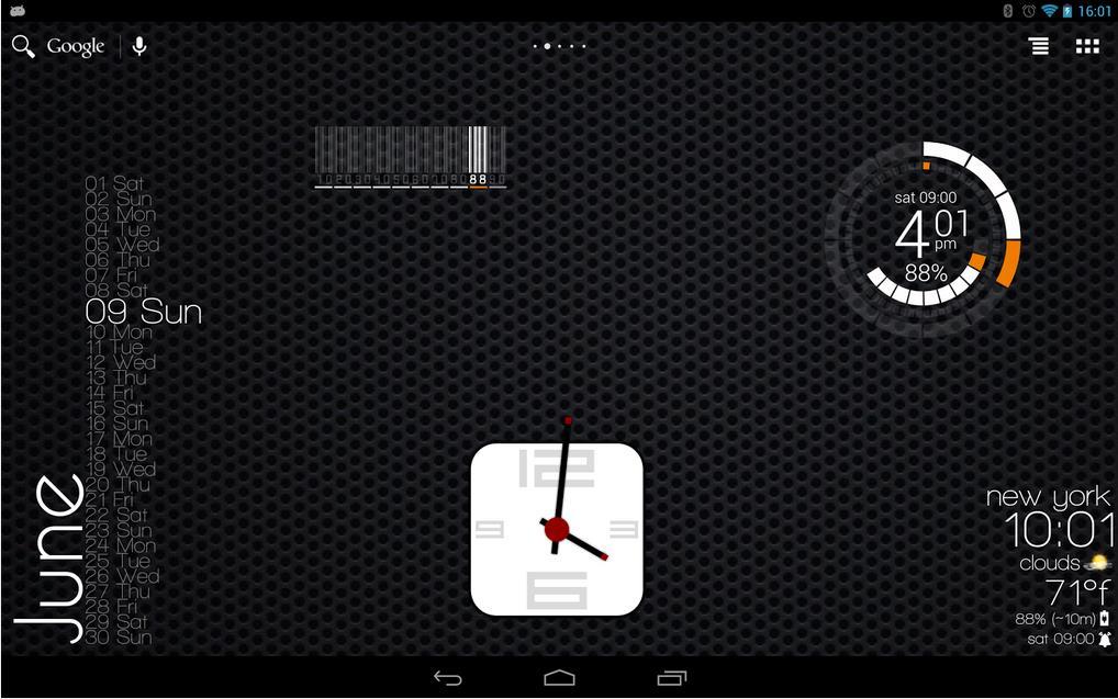 Zooper Widget на Android
