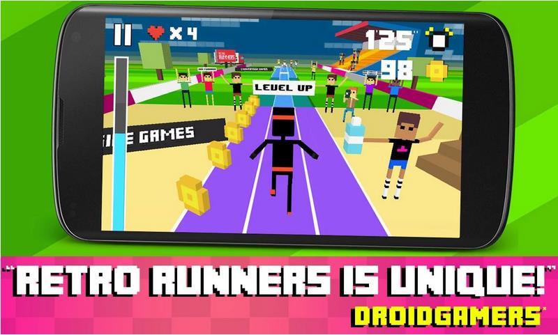 Retro Runners на Андроид