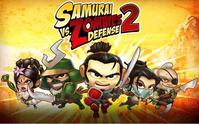SAMURAI vs ZOMBIES DEFENSE 2 для Андроид