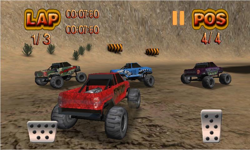 Monster Wheels для Андроид
