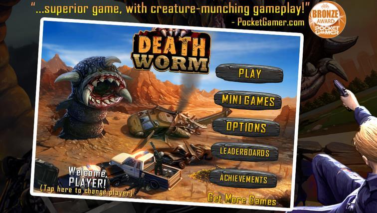 Death Worm на Андроид