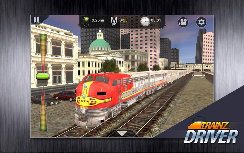Trainz Driver на Андроид