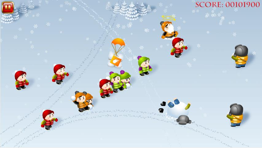 Snowfighters на Андроид