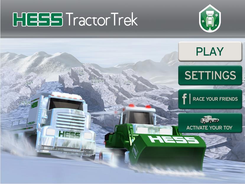 Hess Tractor Trek на Андроид