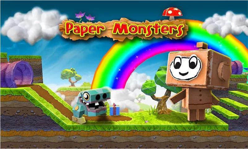 Paper Monsters на Андроид