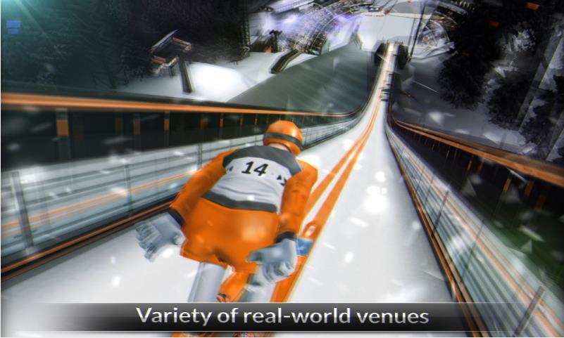 Super Ski Jump на Андроид
