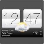 Sense V2 Flip Clock & Weather – часы с погодой для Андроид