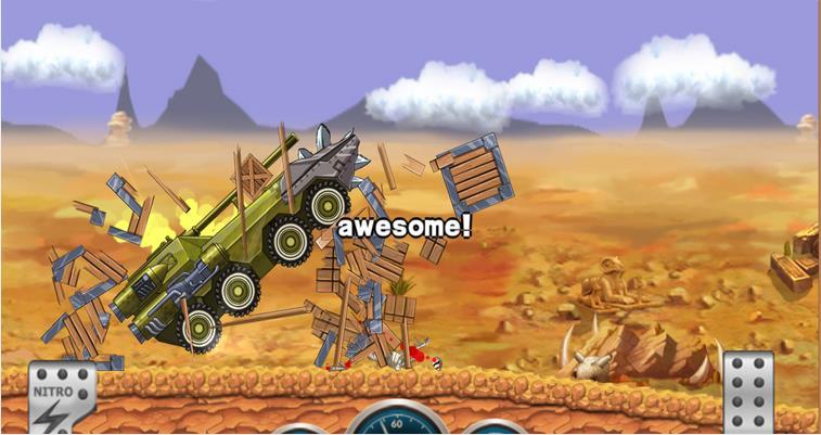 Монстр тире Хилл Racer на Андроид