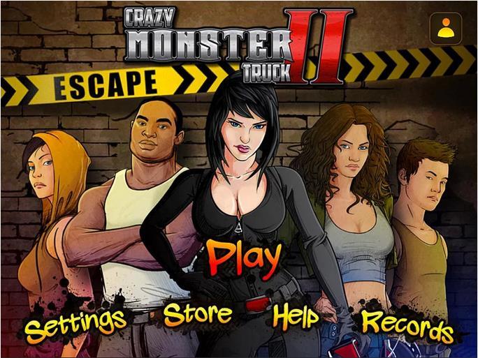 Crazy Monster Truck - Escape