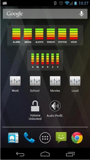 AudioManager - управление громкостью на андроид