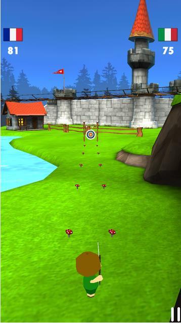 Стрельба из лука 3D на Андроид