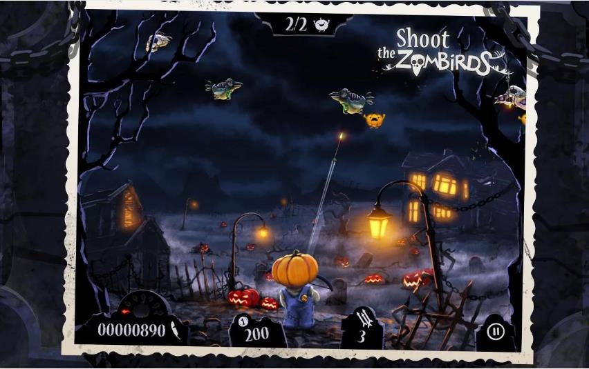 Shoot The Zombirds на Андроид