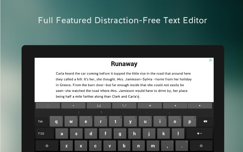 JotterPad X: Writing для Android