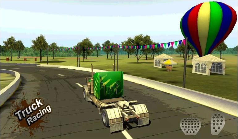 Truck Racing 3D - гонки на грузовиках на Андроид