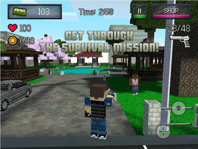 Block City Wars (Mine Game)