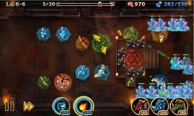 Lair Defense: Dungeon на Андроид