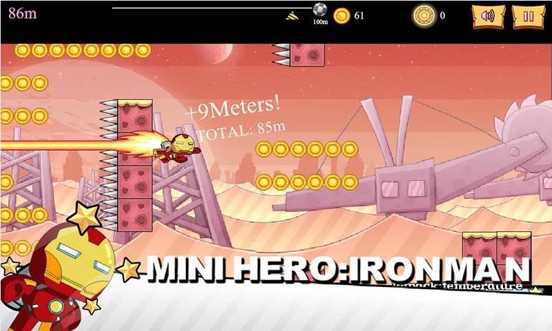 Mini Hero: Avengers на Андроид