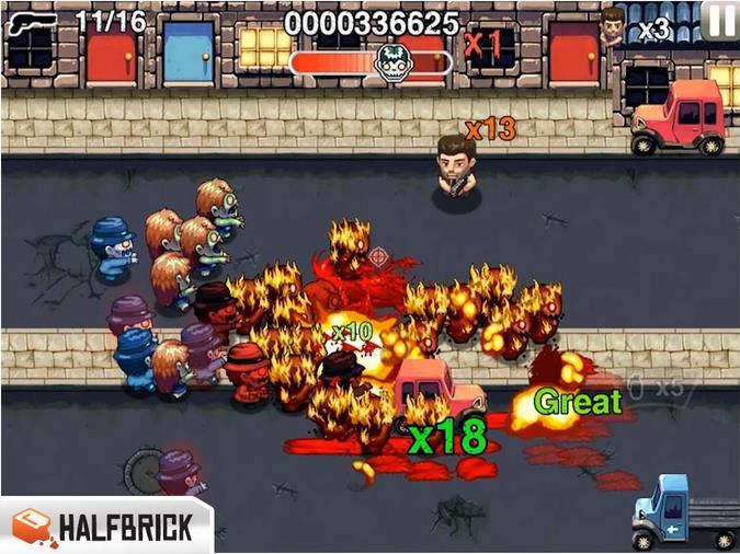 Age of Zombies Lite на Андроид