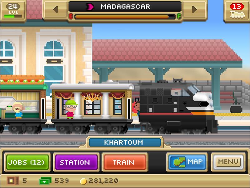 Pocket Trains на Андроид
