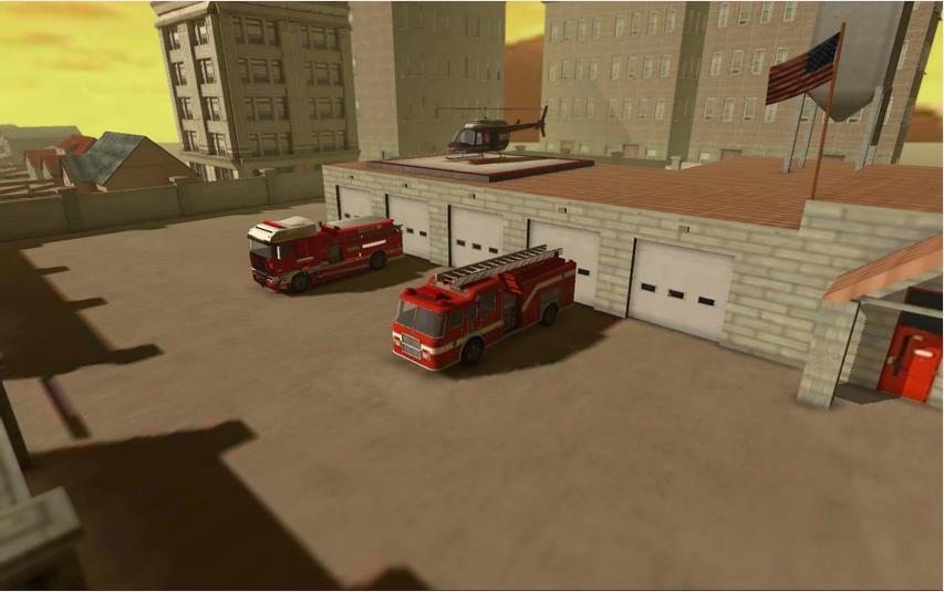 Firefighter Simulator 3D