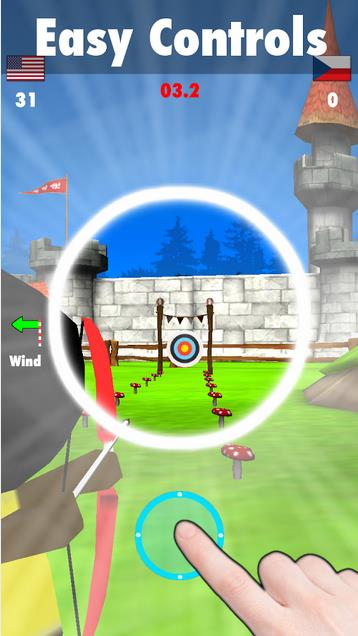стрельба из лука 2 на Андроид