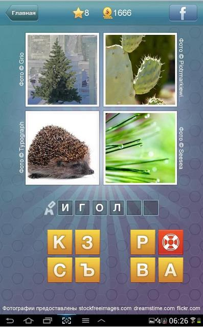 Что за слово? – 4 фотографии 1 слово