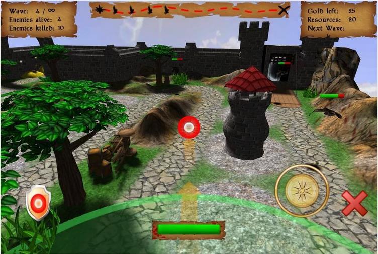 Tower Defense 3D на Андроид