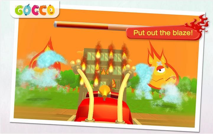 Gocco Fire Truck: 3D Kids Gameot_2